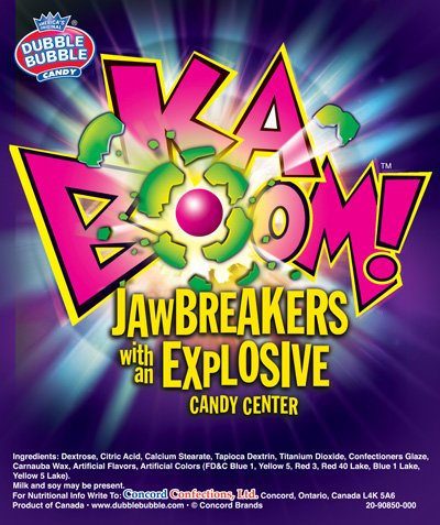 KABOOM Jawbreaker Candy (2 pound bag)