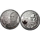 Canada 2012 Regular and Coloured Brock 25 cents Nice - BU Canadian Quarters