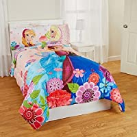 Frozen Floral Breeze Bedding Comforter