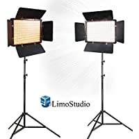 Limo2 Sets Of Led Barn Door Light Panel With Light Stand Tripod