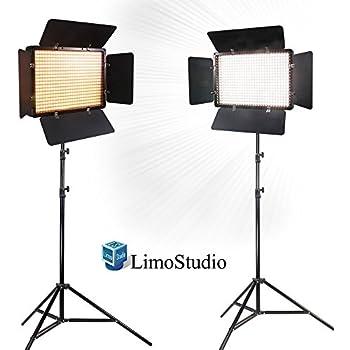 Limo2 Sets Of Led Barn Door Light Panel With Light Stand Tripod