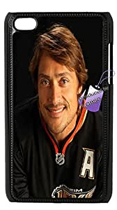Back case for iPod touch4,cases for iPod touch4,iPod touch4 cover case,DIY Teemu Selanne case with Bknso_9409508(Black).