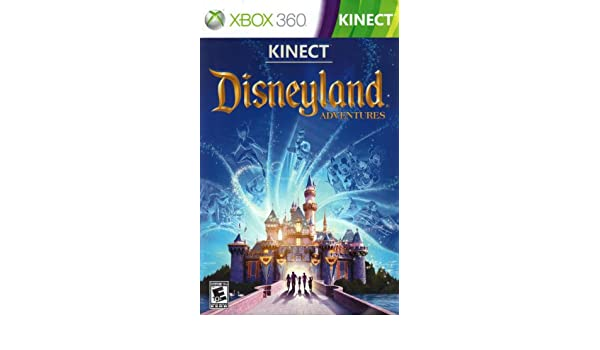 Disneyland adventures xbox 360 kinect (required) (disk,case.