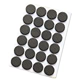 SODIAL(R) Self-stick Anti-skid Pad 48 Piece Pack Furniture and Floor Protectors (Round)