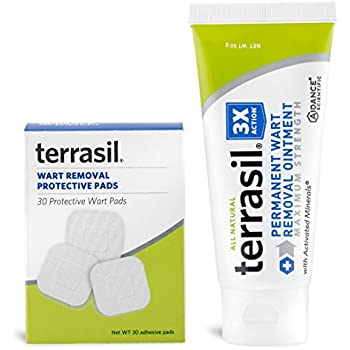 Amazoncom Permanent Wart Remover With Pads Safe For Sensitive