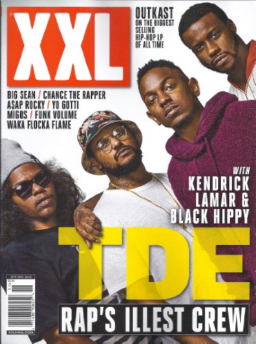 XXL Magazine (October/November 2013,TDE,Kendrick Lamar)