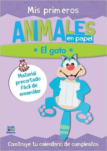 Mis primeros animales en papel: El gato (Trabajos manuales en papel series) 1st Edition