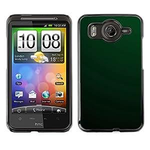 TopCaseStore / la caja del caucho duro de la cubierta de protección de la piel - Simple Green - HTC G10