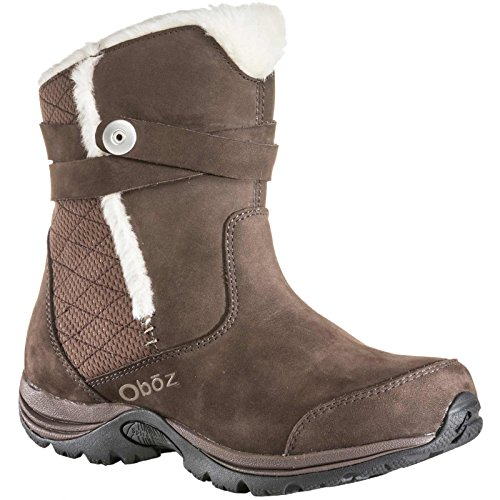 Bdry Madison De Trekking Insulated Zapatilla Women's Oboz Marrón 7
