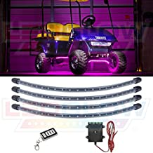LEDGlow Pink LED Golf Cart Underbody Lighting Kit