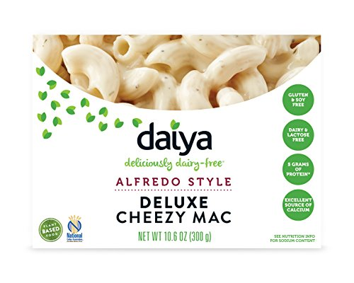 Daiya Cheezy Mac, Alfredo Style :: Rich & Creamy Plant-Based Mac & Cheese :: Deliciously Dairy Free, Vegan, Gluten Free, Soy Free :: Whole Grain Gluten Free Noodles, 10.6 Oz. Box (2 Pack)