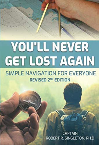 You'll Never Get Lost Again: Simple Navigation for Everyone (Using A Compass And Map For Navigation)