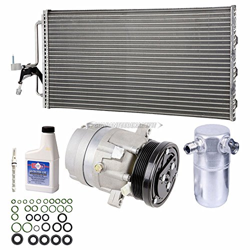 A/C Kit w/AC Compressor Condenser & Drier For Buick Regal & Olds Intrigue 3.8L - BuyAutoParts 60-89158CK New