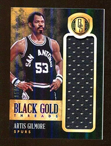 Artis Gilmore 2013 Panini Gold Standard Black Threads #74 5/25 Spurs 46182