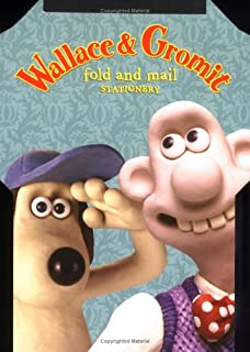 Wallace Gromit Fold And Mail Stationery