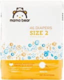 Amazon Brand - Mama Bear Diapers Size 2, 46 Count, White Print