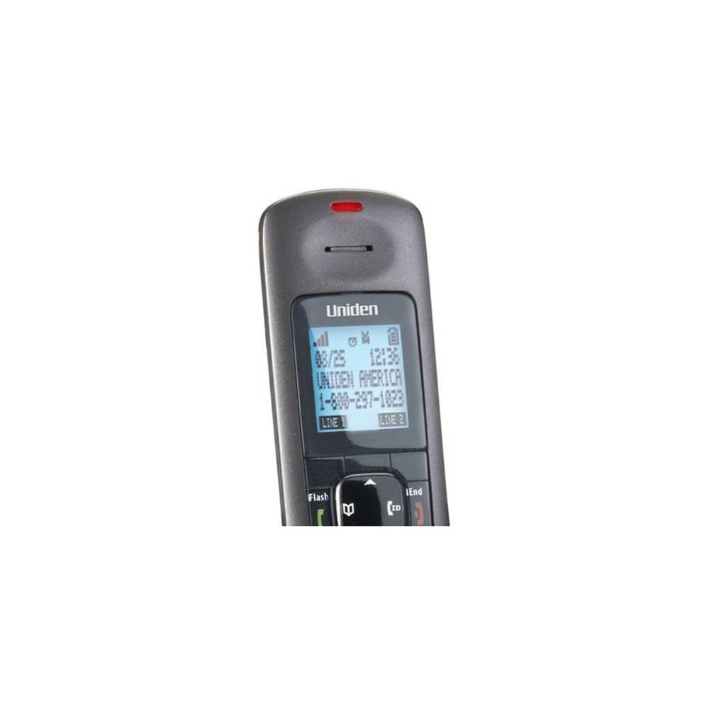 Amazon.com : Uniden DECT 6.0 Two-Line Cordless Phone with Digital Answering  System : Office Electronics : Electronics