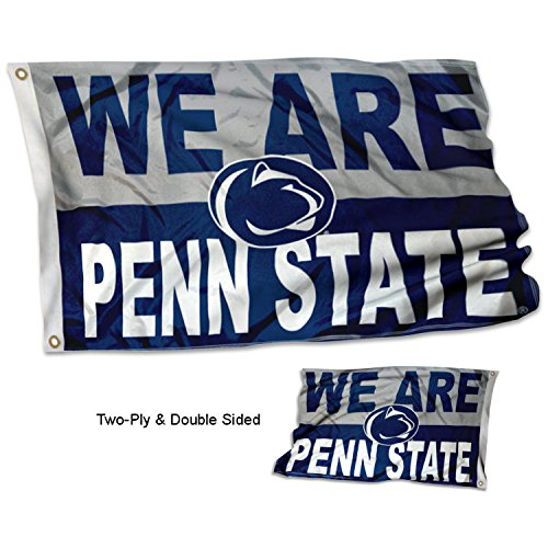 College Flags and Banners Co. Penn State University Nittany Lions WE are Penn State Double Sided Flag ()