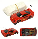 1992 TYCO Slotless TCR Set Only Wide Pan FERRARI F-40 Street Ready Red HO Slot Car