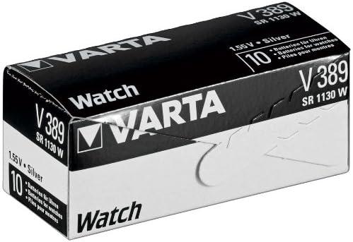 389 Varta V389 Sr54 Sr1130w Knopfzelle Für Uhren Elektronik