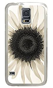 Sunflower 27 Clear Hard Case Cover Skin For Samsung Galaxy S5 I9600