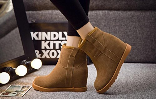 Snow Light boots shoes casual Tan In tube women higher the Slope with Within boots Aksautoparts TOqdRT