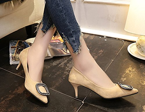 Tire Aisun Mariage Sexy Carr Chaussures Femme Pour xAwU6