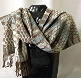 Handwoven Alpaca/Wool Shawl/Scarf