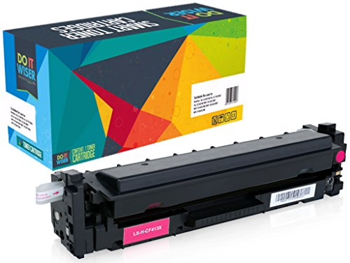 Do It Wiser Compatible High Yield Toner for HP CF413X CF413A Color Laserjet M452NW M452DW M452DN MFP M477FDN M477FDW M477FNW - Magenta