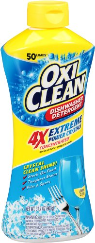 OxiClean Dishwasher Detergent, Lemon Clean, 31.7 Oz by OxiClean (Image #2)