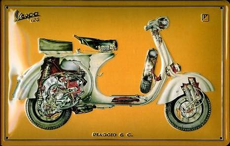Buddel-Bini Versand - Cartel Decorativo (Metal), diseño ...