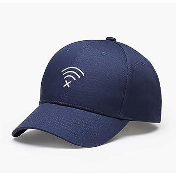 XIAXIACP Sombreros para Hombres Y Mujeres Marcas De Marea Gorras De Béisbol para Bordar Al Aire Libre Protector Solar Simple Lengua De Pato Costura De ...