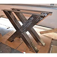 Metal Table Legs, X-Frame Style - Any Size and Color!
