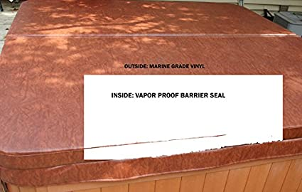 Hot Tube Cover The Cover Guy Combo Upgraded Vapor Proof Barrier Seal
