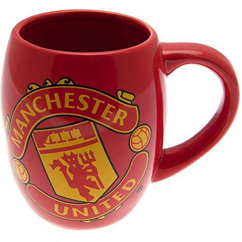 Manchester United FC Official Tea Tub Mug (One Size) (Red/Yellow)
