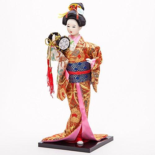 """12"""" Japanese GEISHA Oriental Doll ZS1029-12"""