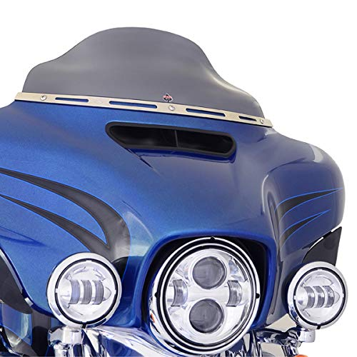 - KLOCK Werks 'Flare' Windshield for 2014 and Newer Harley Davidson FLH