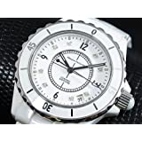 [マウロジェラルディ]MAURO JERARDI 腕時計 セラミック ホワイト MJ014G-1 メンズ 【並行輸入品】