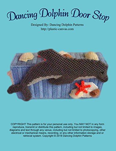 Dancing Dolphin Door Stop: Plastic Canvas - Yarn Canvas Chart