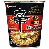 Nongshim Shin Black Noodle Soup, 101 Grams (Pack of 6)