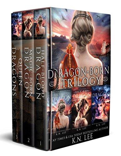 (Dragon-Born: The Dragon-Born Saga Books 1-3, Half-Blood Dragon, Magic-Born Dragon, Queen of the Dragons)