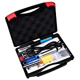 Tabiger Soldering Iron 60W 110V-Adjustable Temperature Welding Soldering Iron with Tool Carry Case