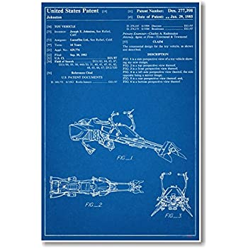 Boba Fett Patent New Famous Invention Star