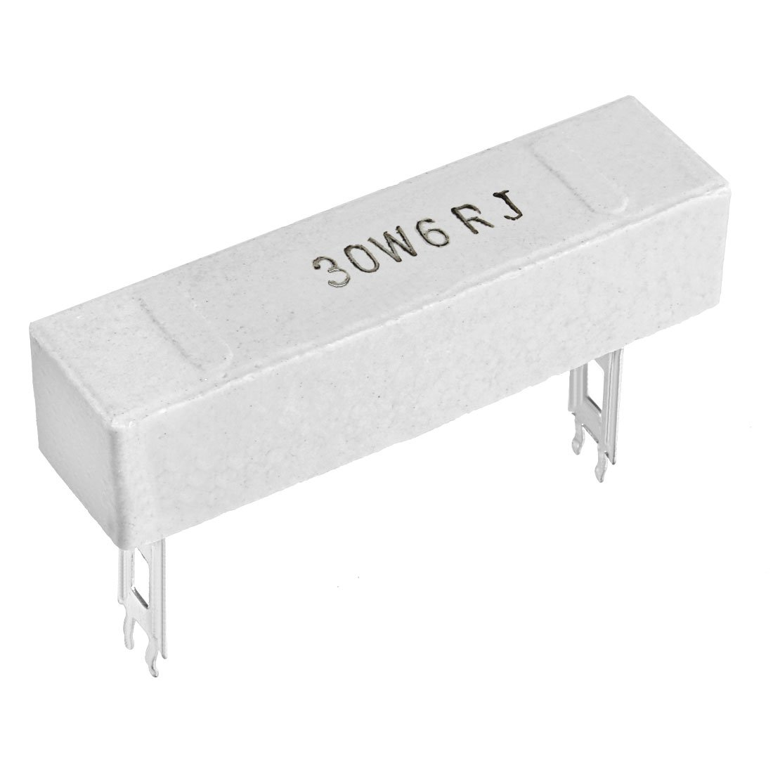 uxcell 5W 68k Ohm Power Resistor Ceramic Cement Resistor Axial Lead 15Pcs White