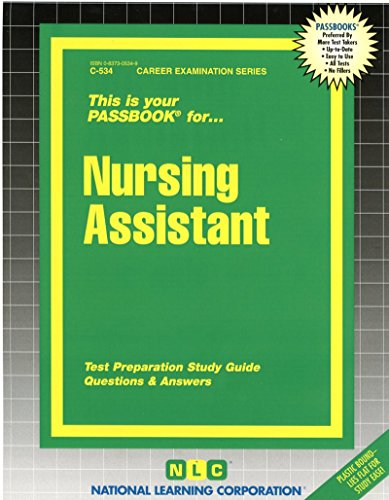 Nursing Assistant(Passbooks) (Career Examination Passbooks)