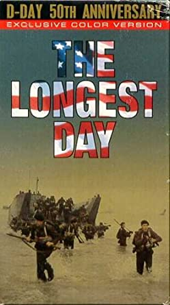 Amazon com: The Longest Day (D-Day 50th Anniversary