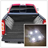 2 Piece Set Universal LED Bed Rail Light Kit Truck Bed Light 32 Super Bright LED