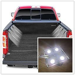 2 Piece Set Universal LED Bed Rail Light Kit Truck Bed Light 32 Super Bright LED