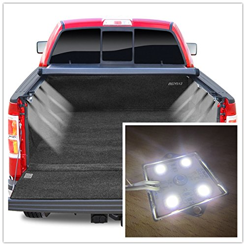 Large Truck Bed Lighting Light Kit 32 WHITE LED for Chevy Ford Toyota Nissan Dodge