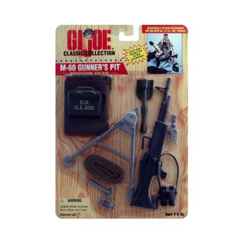 Joe Mission Gear Gi (GI Joe Classic Collection M-60 Gunner's Pit Mission Gear)